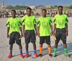 الجحش  : دوري ملتقى الساحل لفئة الناشئين الإنطلاقة الحقيقة للصافرة التحكيمية في ساحل رضوم1